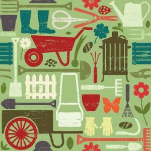 tools for energetic female gardener in rusper, horsham, sussex, west sussex